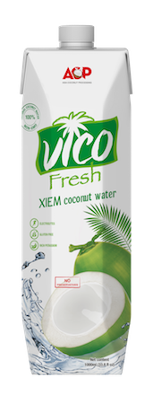 UHT Coconut Water VICO FRESH ACP